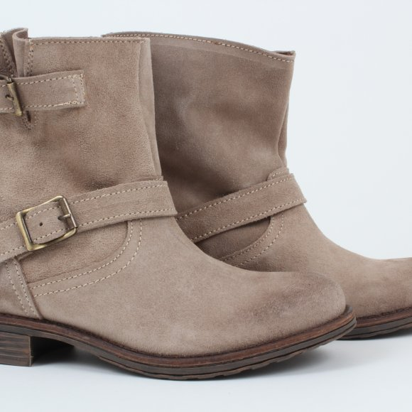 Multi brand - Biker Boots suede fra By Burin