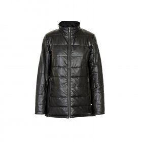 Educe - Linnea leather coat fra Educe