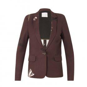 Coster Copenhagen - Suit jacket w. blossom print fra Coster Copenhagen