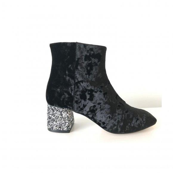 Amust - Glitter boots fra Amust