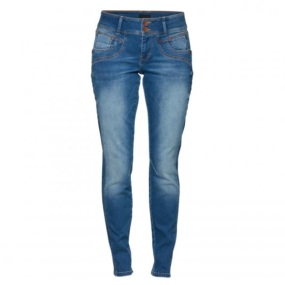 Pulz Jeans - Stacia curved skinny jeans fra Pulz
