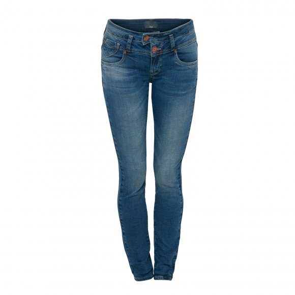 Pulz Jeans - Anett skinny midtwaist jeans fra Pulz