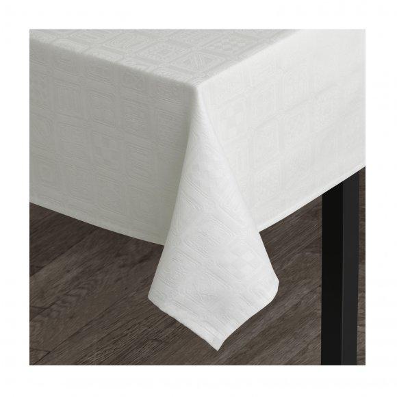 Juna Design - Squares damask dug str 150x220 cm fra Juna