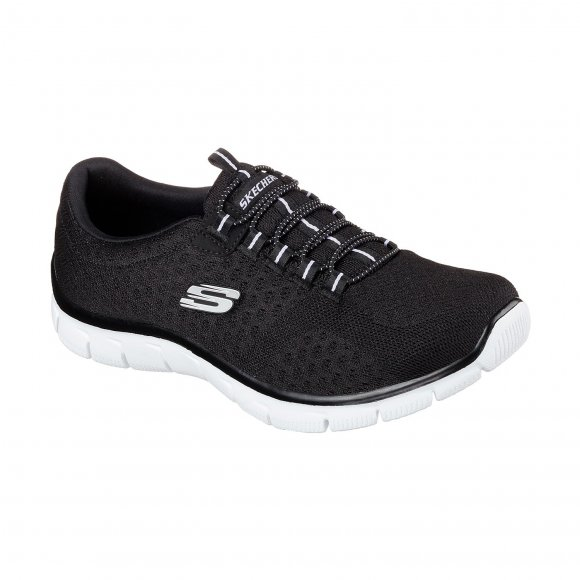 skechers - Womens Relaxed fit empire ocean wiew sko fra Skechers