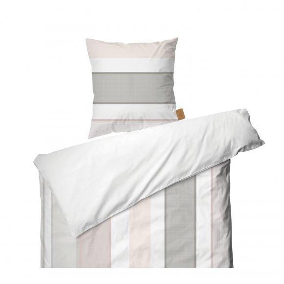 Juna Design - Grid sengesæt str 140x220 cm fra Juna