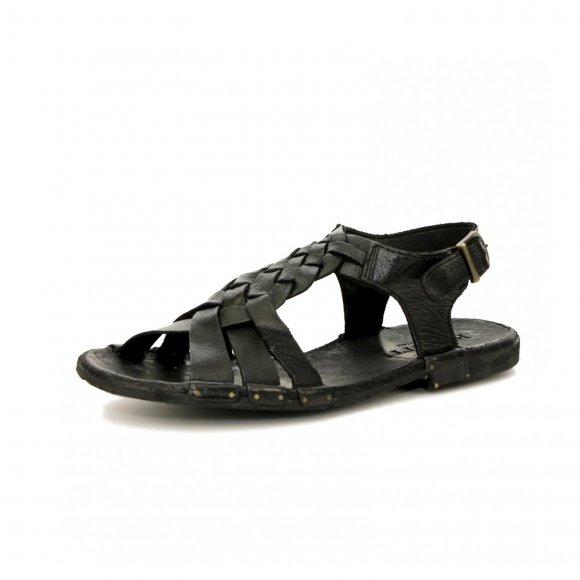 Bubetti - Lux nero sandal fra Bubetti