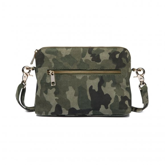 depeche - Small bag i camouflage print fra Depeche