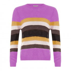Coster Copenhagen - Sweater w. stripes fra Coster Copenhagen