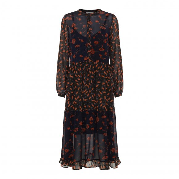 Continue - Flora dress fra Continue