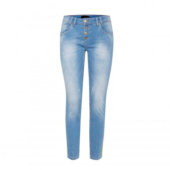 Pulz Jeans - Rosita midtwaist ankle jeans fra Pulz