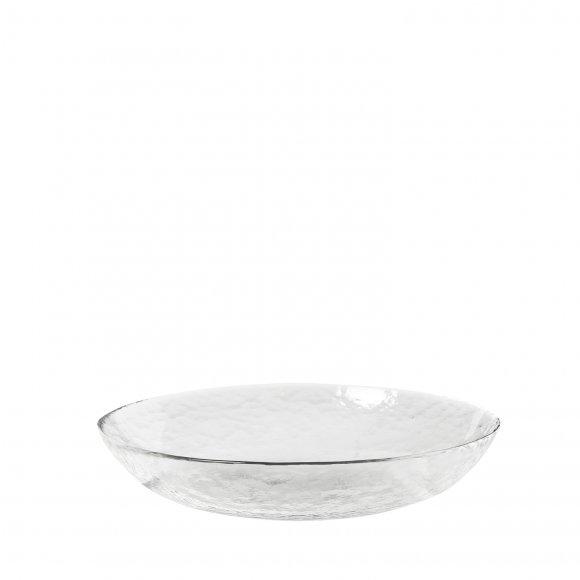 """Broste Copenhagen - Bowl """"hammered"""" glass fra Broste Copenhagen"""