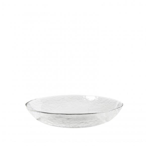 """Broste Copenhagen - Plate """"hammered"""" i glas fra Broste Copenhagen"""