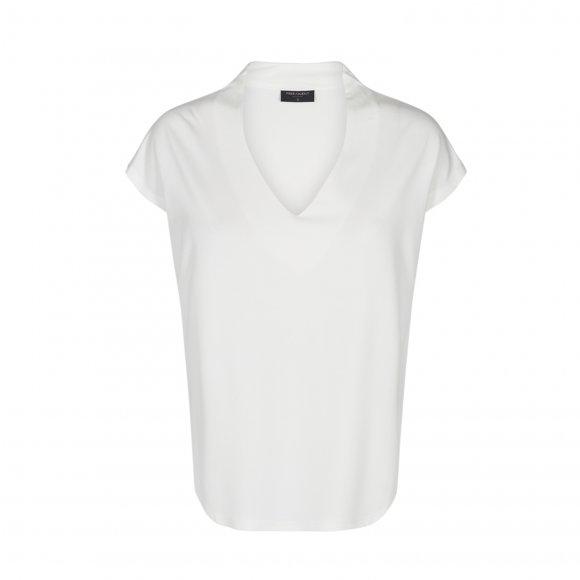 Free quent - Yrsa bluse med v hals fra Freequent
