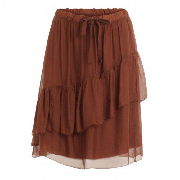 Coster Copenhagen - Skirt w. elastic and w. wide drawstring fra Coster Copenhagen