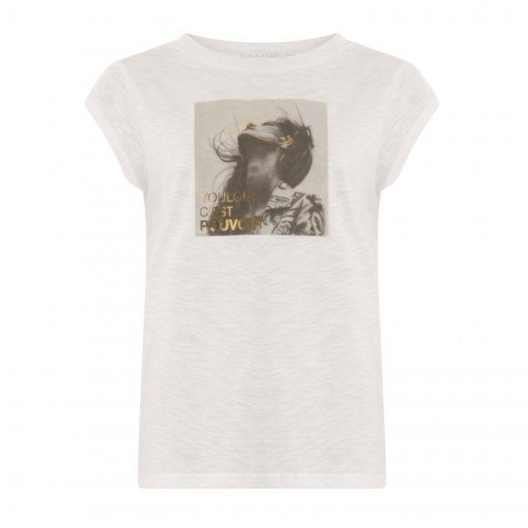 Coster Copenhagen - T-shirt w. dream print fra Coster Copenhagen