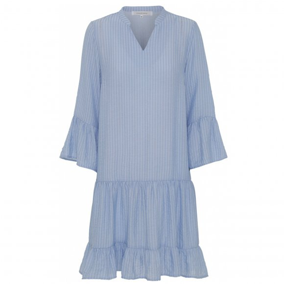 Continue - Laurel stripe dress fra Continue