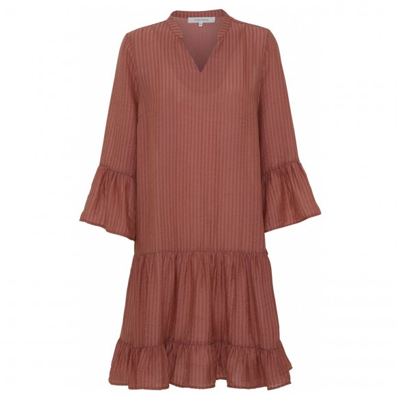 Continue - Laurel stripe dress fra Continue