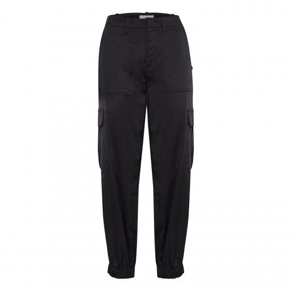 Pulz Jeans - Black beauty casual buks fra Pulz