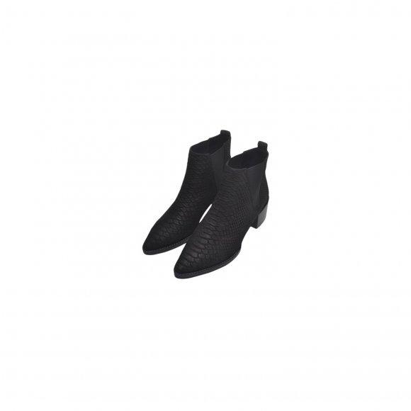 copenhagen shoes - Holy suede croco støvle fra Copenhagen Shoes