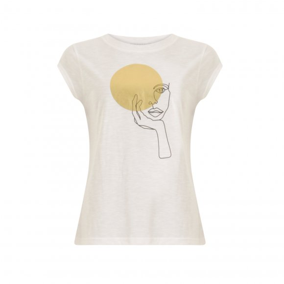 Coster Copenhagen - T-shirt with lady fra Coster Copenhagen