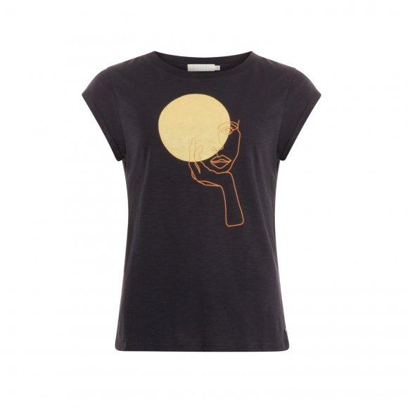 Coster Copenhagen - T-shirt with lady fra Coster Copenhagen
