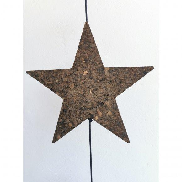 Nordic by hand - Kork stjerne fra Nordic By Hand