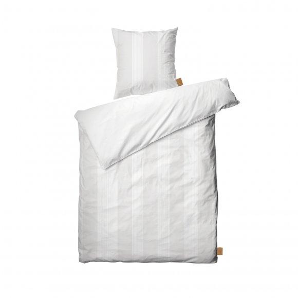 Juna Design - Folded stripes sengetøj str 140x220 cm fra Juna