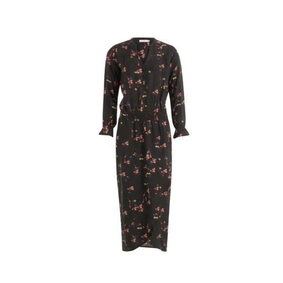 Coster Copenhagen - Dress in carp print w. elastic band at waist fra Coster Copenhagen