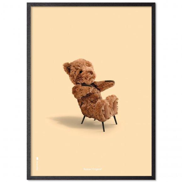 brainchild - Bamse plakat med ramme fra Brainchild Original