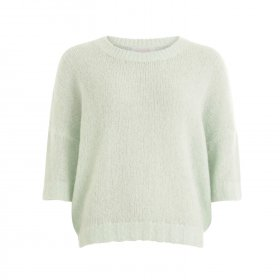 Coster Copenhagen - Short sleeved sweater w. round neck fra Coster Copenhagen