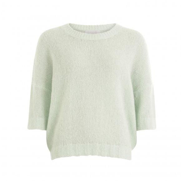Coster Copenhagen - Short sleeved sweater w. round neck fra Coster Copenhagen