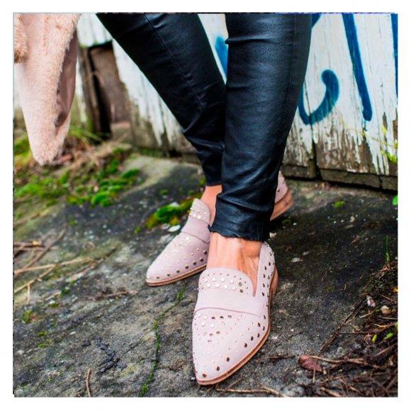 copenhagen shoes - Molly suede sko fra Copenhagen Shoes