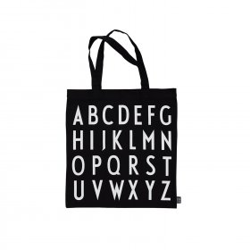 Design Letters - Tote bag ABC fra Design letters