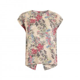 Coster Copenhagen - Blouse w. winter berry print fra Coster Copenhagen