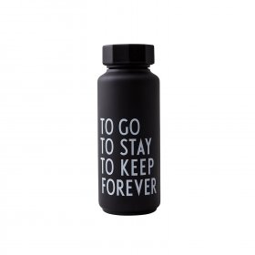 Design Letters - Thermoflaske special edition fra Design Letters to go to stay to keep forever