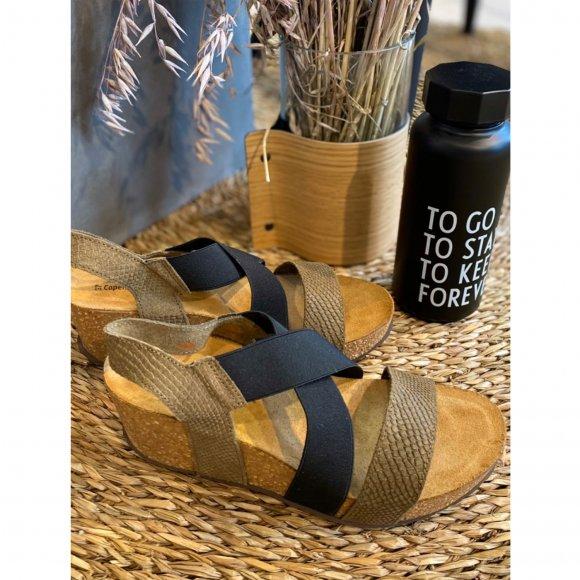 copenhagen shoes - Stacia snake sandaler fra Copenhagen Shoes