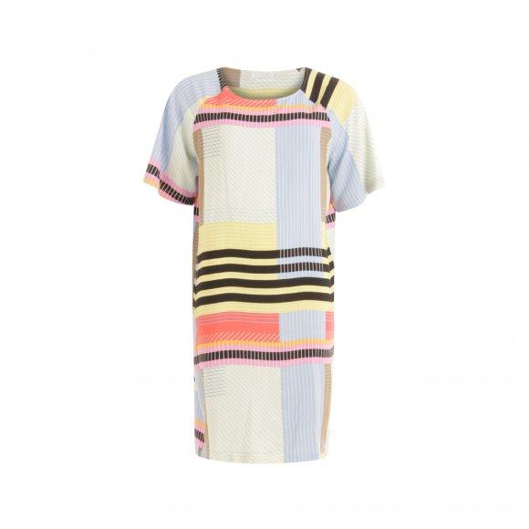 Coster Copenhagen - Kortærmet skjorte kjole fra Coster Copenhagen