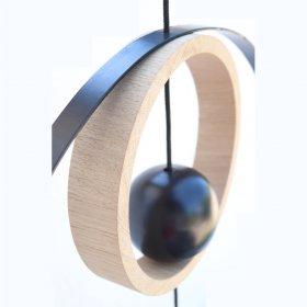 Nordic by hand - Snoren bred egetræs ring 20 cm fra Nordic By Hand