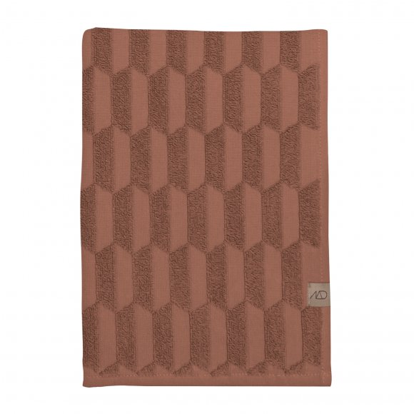 Mette Ditmer - Geo håndklæde str 70x133 cm fra Mette Ditmer