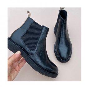 Copenhagen shoes - Mila croco støvle fra Copenhagen Shoes
