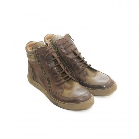 Bubetti - 6908 støvle brun nabuk fra Bubetti