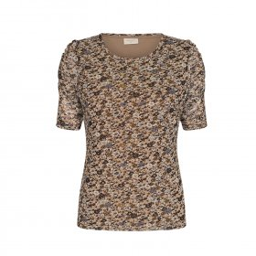 Free quent - Gry bluse fra Freequent