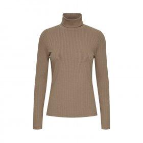 Pulz Jeans - Roxanne rullekrave bluse fra Pulz