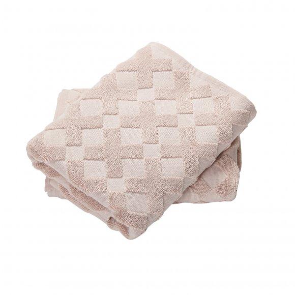 Mette Ditmer - Cross Håndklæde  70x133cm fra Mette Ditmer