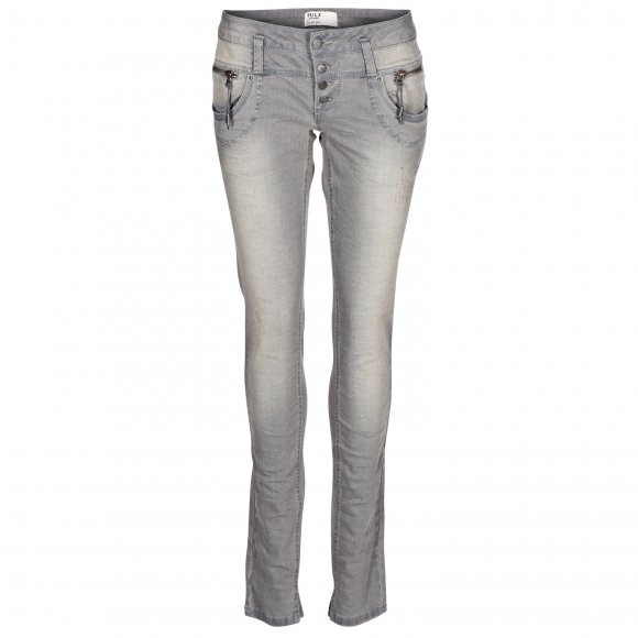 Pulz Jeans - Alicia skinny midwaist jeans fra Pulz